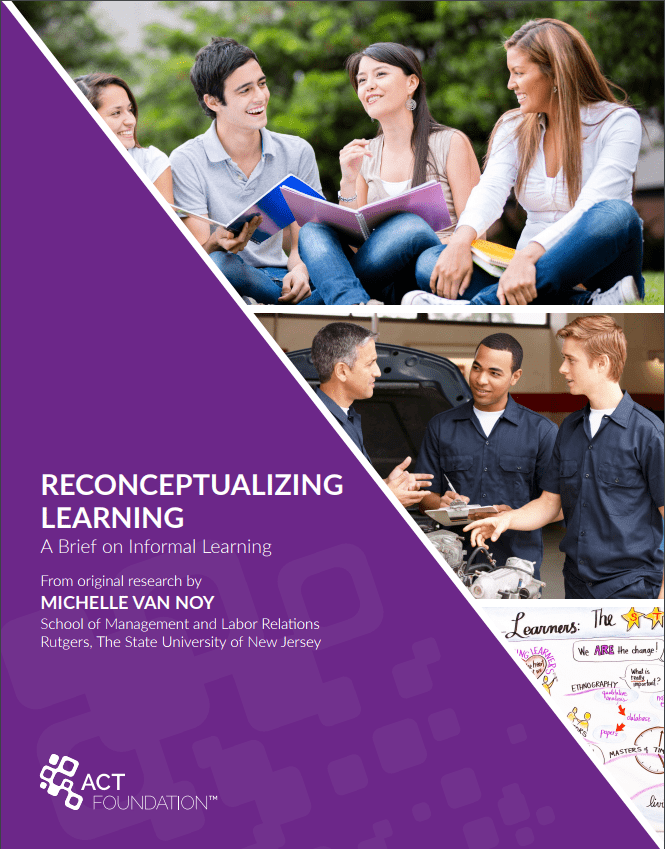 Reconceptualizing Learning