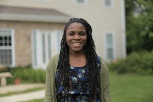 Esther, a nineteen years old, from Milwaukee, Wisconsin