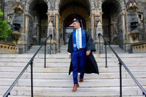 Renzo at graduation