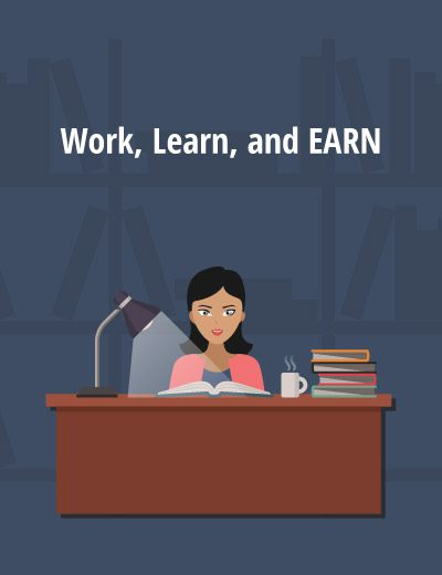 Work Learn Earn Adult Cover