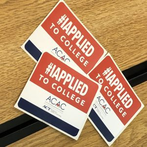 photo of #IApplied stickers