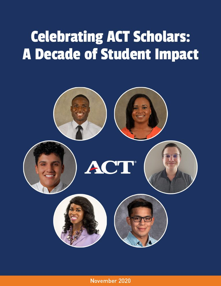 Celebrating ACT Scholars Brief